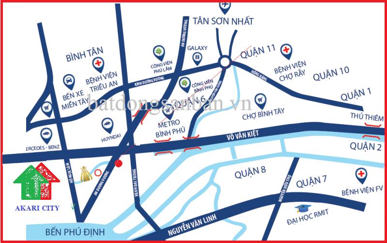 DỰ ÁN CĂN HỘ AKARI CITY - CHỦ ĐẦU TƯ NAM LONG