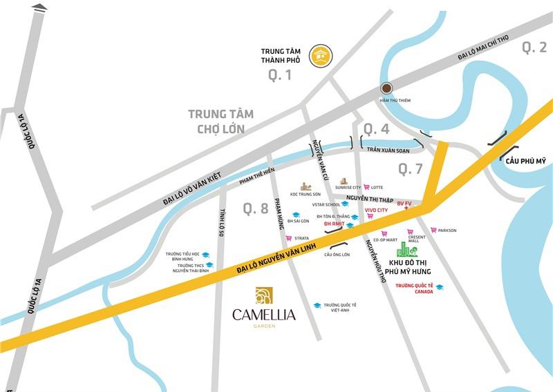 NHÀ PHỐ BIỆT THỰ CAMELLIA GARDEN BÌNH CHÁNH